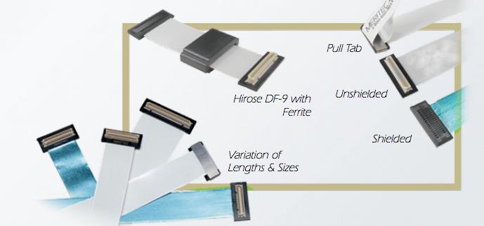Flat Flexible Cables Ffc : Fpdi display cables meritec