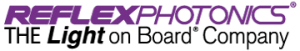 Reflex Photonics - The Light on Board Company - Logo