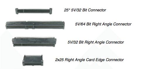 PCI Connectors & Card Edge Connectors